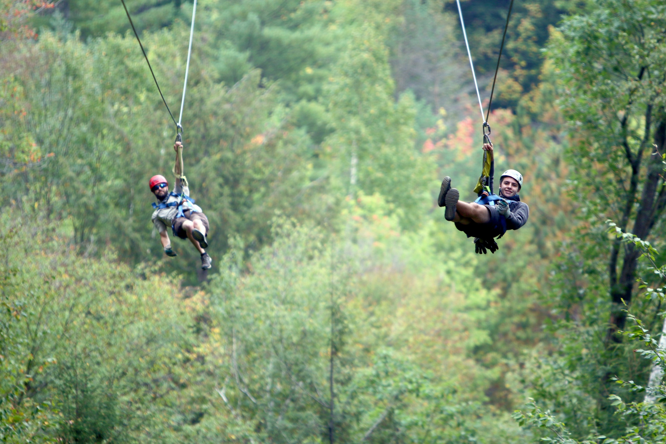 Dual Ziplining