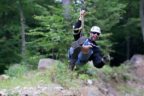 Ziplining is Fun