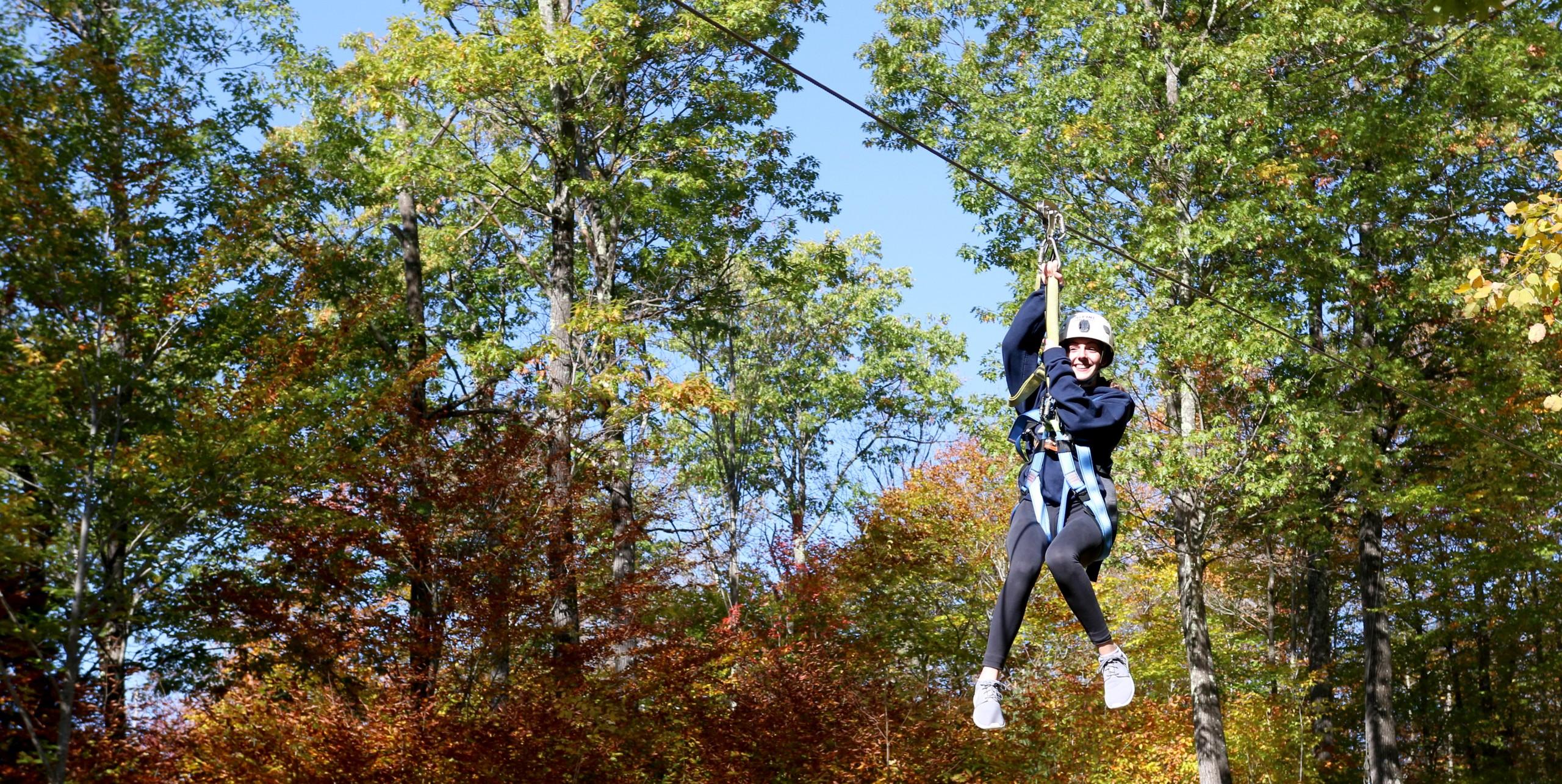 Fall Ziplining