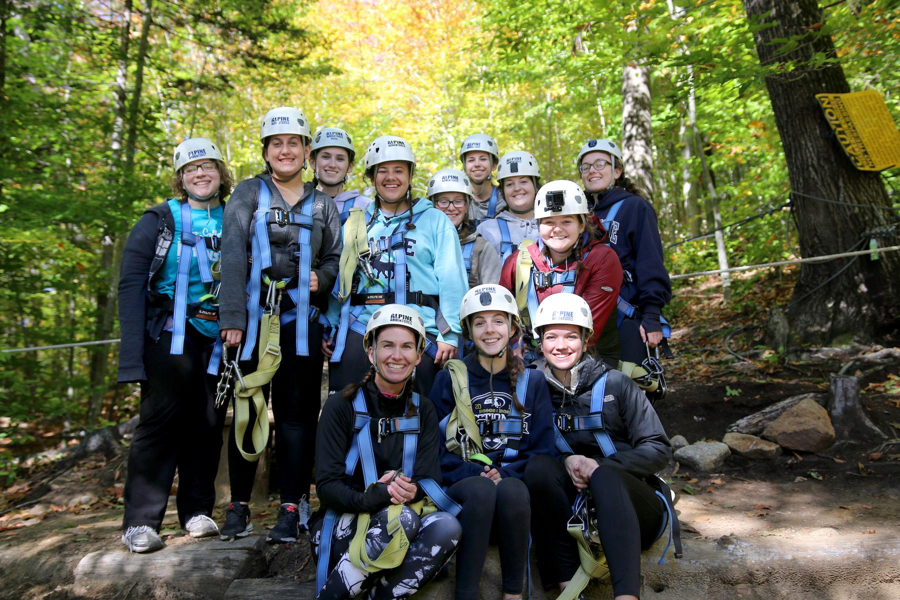Group Ziplining Tour
