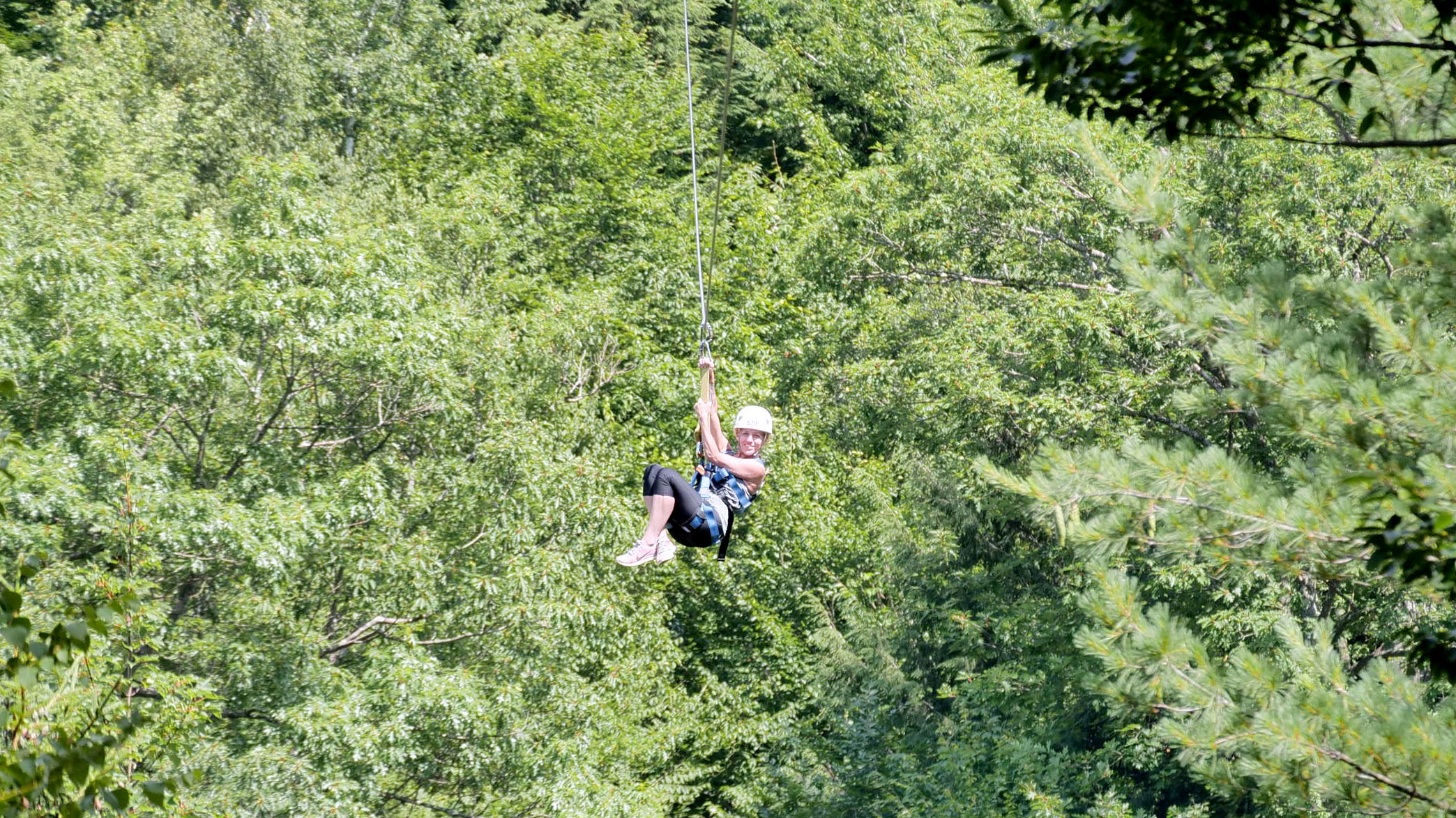 Summer Ziplining Tour