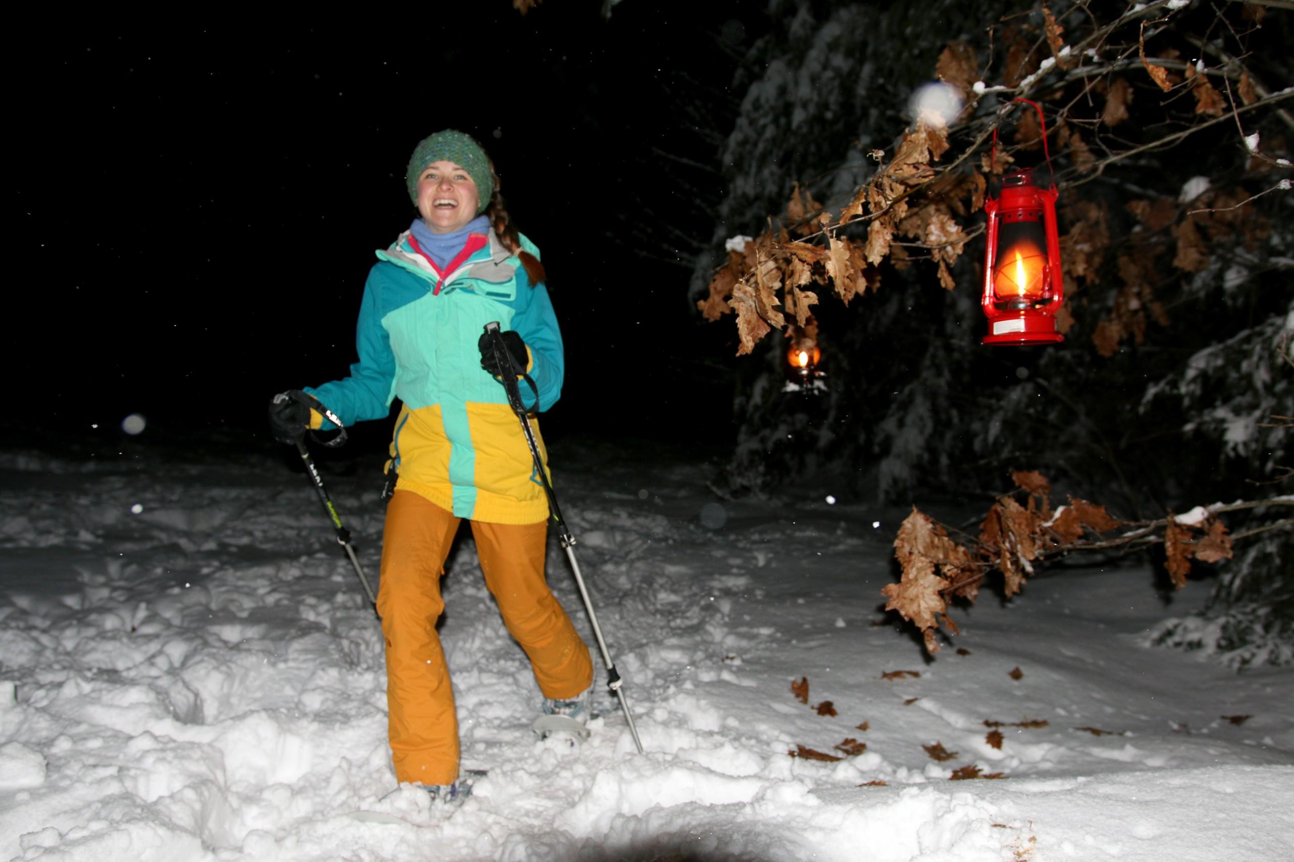 Night Time Snowshoe Tour