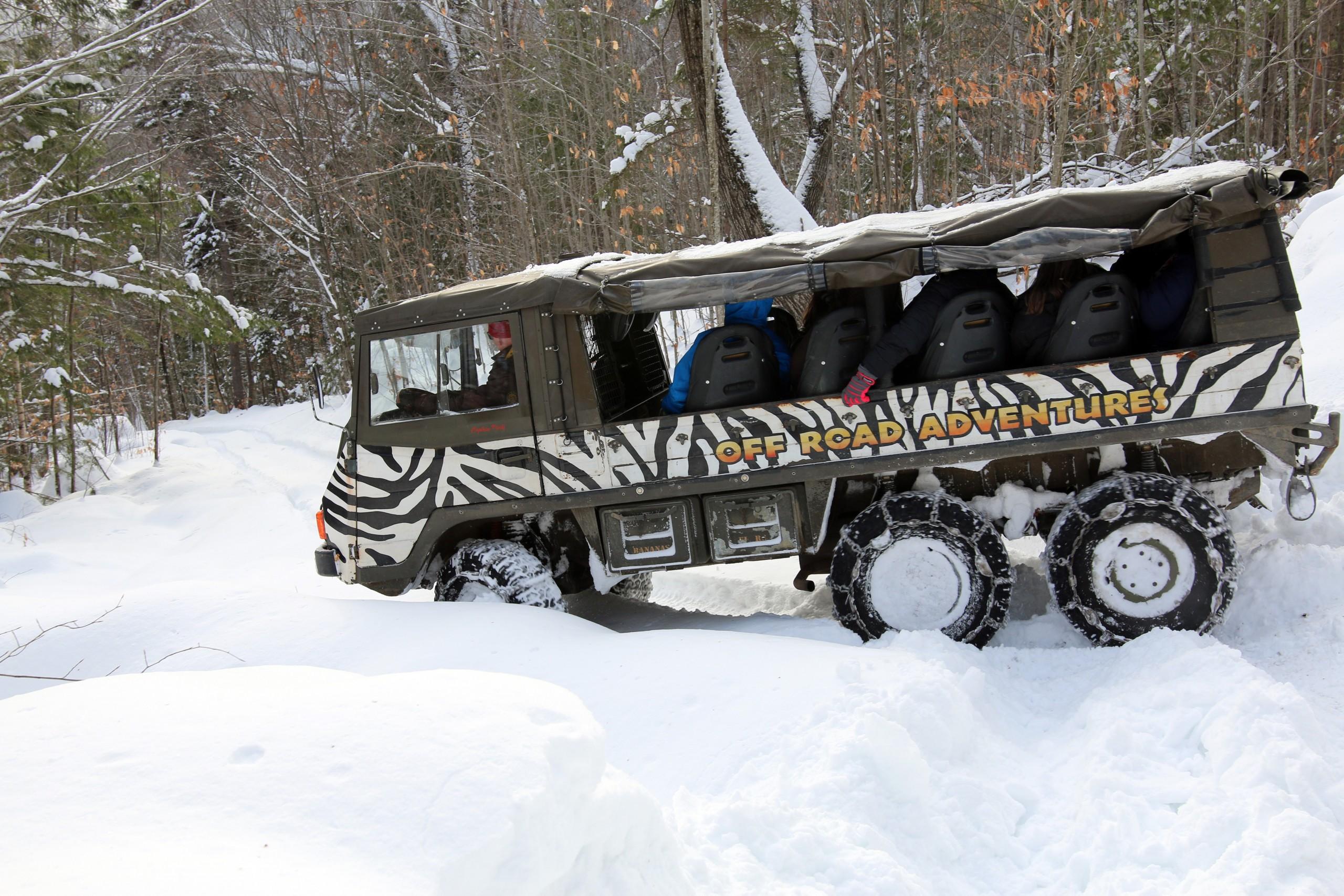 Winter Pinzgauer Tour