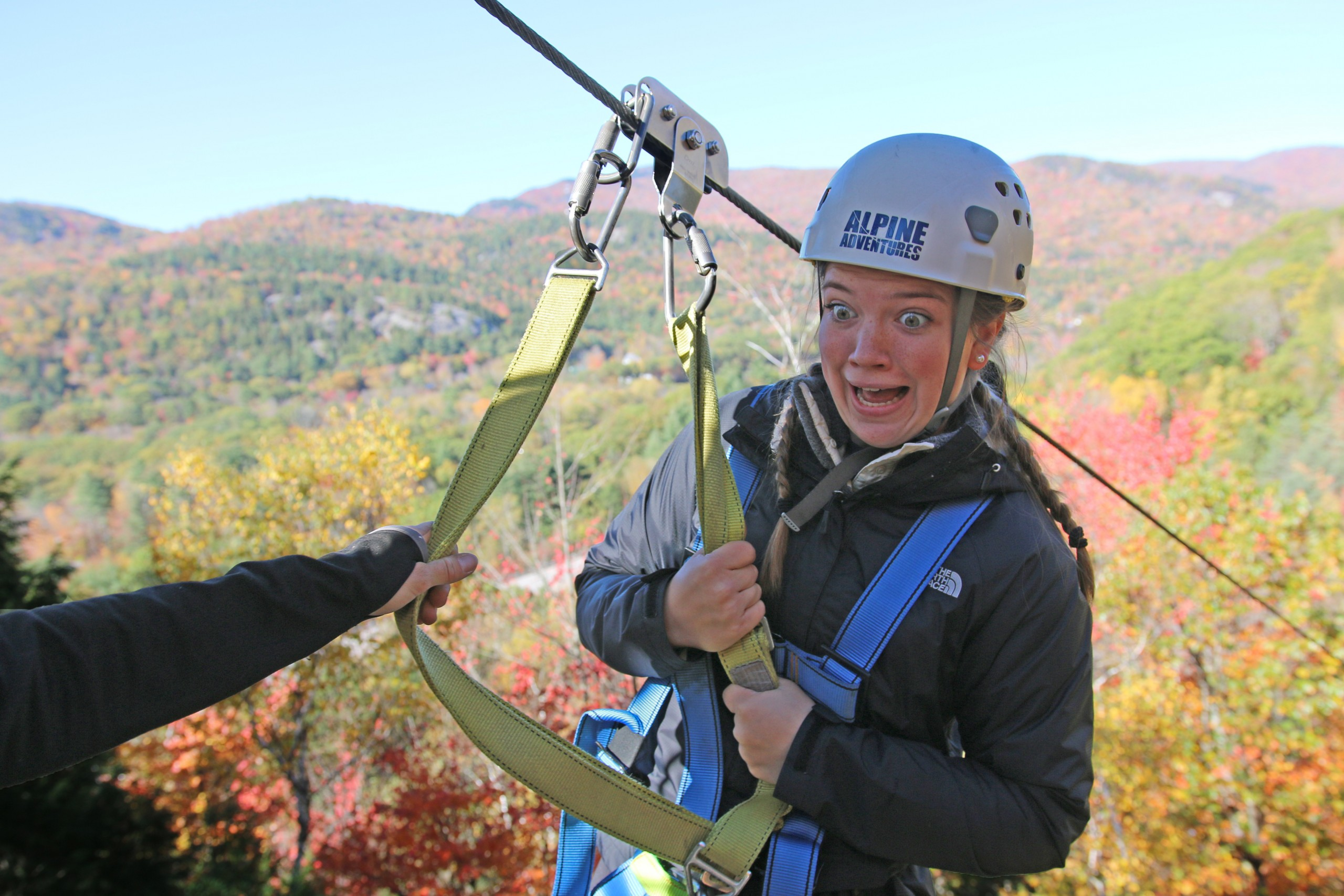 Scared or Excited for Ziplining